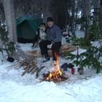 wintertime adventure kitchen