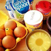 Pineapple Upside-Down Cake Ingredients