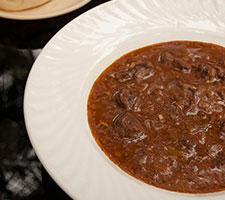 Hungarian Goulash in Bowl