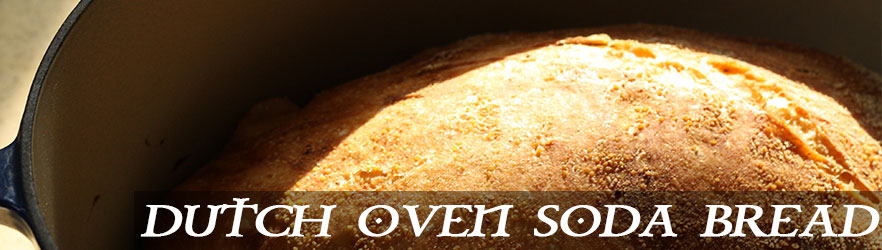Dutch Oven Soda Bread - Featured Image