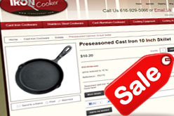 Iron Cooker Cast Iron Pan on Sale