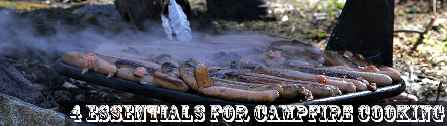 4 Essentials Campfire Cooking