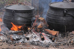 The Grill Option Dutch Oven Open Fire