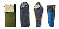 Sleeping Bag Shapes