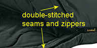 Sleeping Bag Stitching