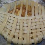 weaving  top crust