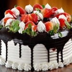 Chocolate and strawberry cake recipe