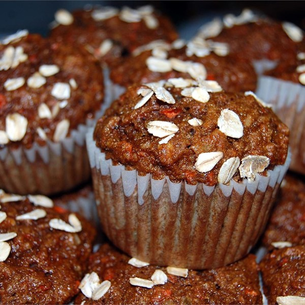 Recipe: Get Up & Go! Morning Glory Muffins - Iron Cooker